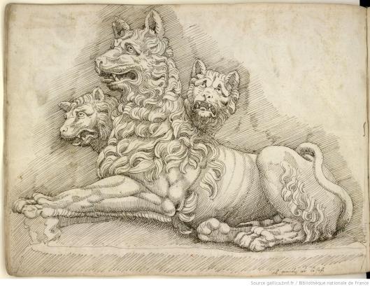 Pierre Jacques, Album de dessins d'après l'antique, exécutés à Rome [vers 1576], vue 55
