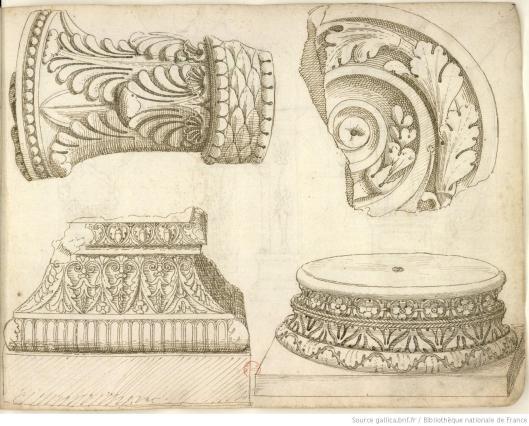 Pierre Jacques, Album de dessins d'après l'antique, exécutés à Rome [vers 1576], vue 16