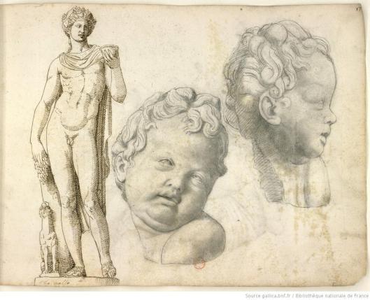 Pierre Jacques, Album de dessins d'après l'antique, exécutés à Rome [vers 1576], vue 36