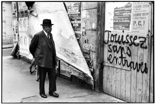 Cartier-Bresson, Rue de Vaugirard, 1968, © Henri Cartier-Bresson/Magnum Photos