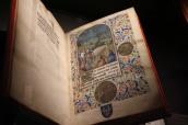 """Jean Tinctor, Traité du crime de vauderie, BnF, Livre exposé lors de la présentation bruxelloise de """"Miniatures flamandes"""""""