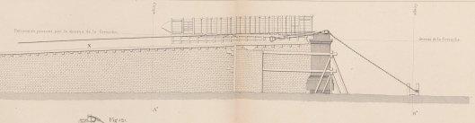 détail d'une planche extraite de L'obélisque de Luxor histoire de sa translation à Paris, description des travaux auxquels il a donné lieu, par A. Lebas, 1839, Gallica/BnF