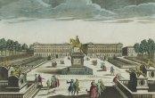 Vue de la place de Louis XV, vue d'optique publiée chez Jacques Chereau, vers 1790, Gallica/BnF