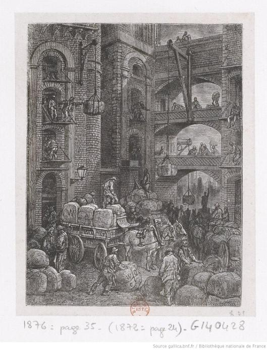 Docks Gustave Doré Londres