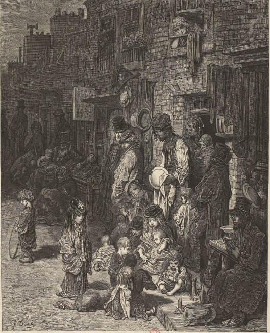 Wentworth Street Whitechapel, Londres, 1872