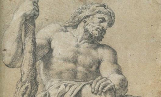 Michel corneille, dessin Hercule
