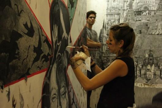 Beaux dégats, septembre 2012, Fresh Paint Gallery, Montréal