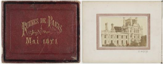 [Recueil de photographies] Ruines de Paris, mai 1871
