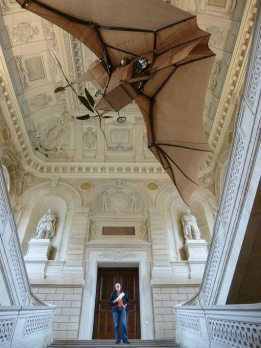 Grand escalier du musée des Arts et Métiers