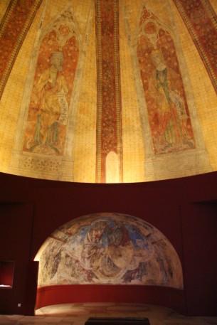 Cité de l'Architecture et du Patrimoine : galerie des peintures murales