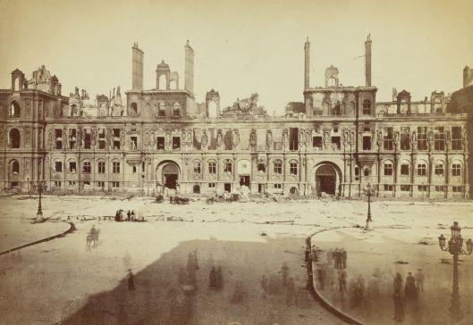 Hôtel de Ville de Paris pendant la Commune