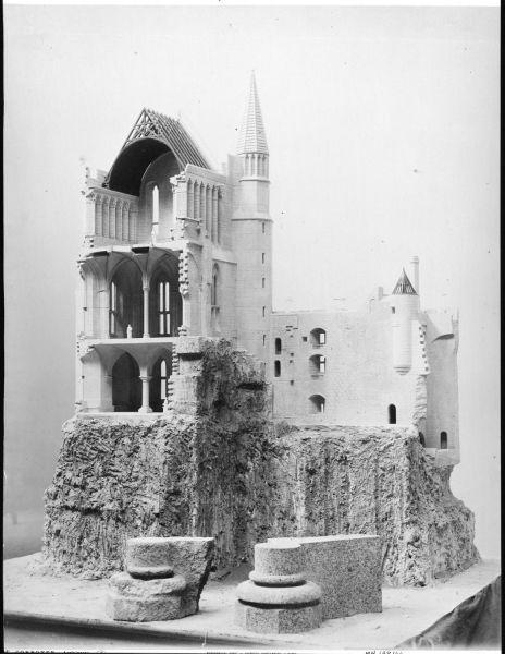 La maquette en 1884