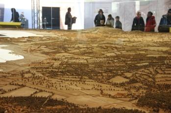 Les plans reliefs lors de l'exposition au Grand Palais en 2012