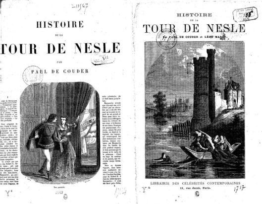 Paul Couder, Histoire de la Tour de Nesle, 1868, Gallica/BnF