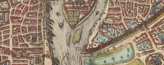 Tour Nesle Paris 1530 Plan Braun