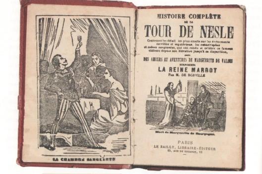 Théodore de Robville, Histoire complète de la tour de Nesle, 1861 (frontispice et page de titre)