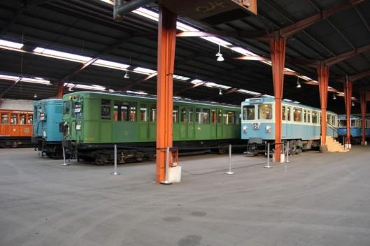 Aperçu de l'entrepôt du patrimoine de la RATP