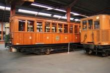 Deux rames 1900 reconstituées